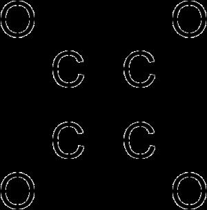 Cyclobutanetetrone - Image: Cyclobutanetetrone