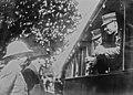 Départ des Grecs pour le front, le prince héritier, le général Papoulas, M. Gounaris, M. Theotókis, ministre de la guerre.jpg