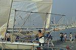 Dériveurs 18 pieds australiens au Salon Nautique International à Flot de La Rochelle 1987 (7).jpg