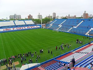 Estadio Gran Parque Central - Día del Patrimonio (Heritage Day) in the Gran Parque Central stadium.