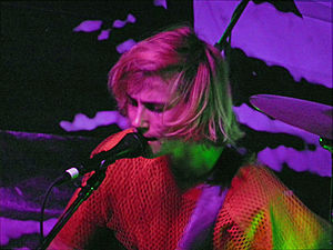 Zachary Cole Smith - Smith performing with DIIV in San Francisco in 2013