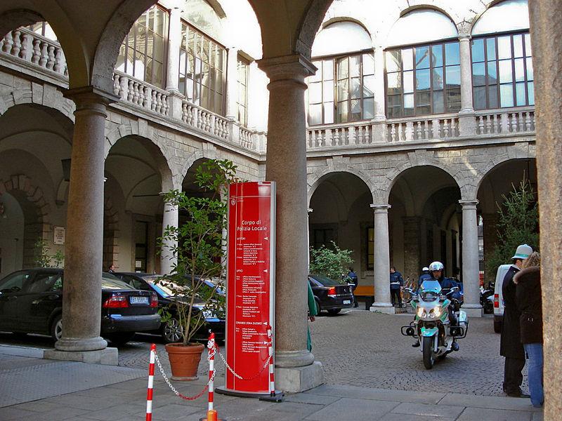 Image:DSC02885 - Milano - L'ex palazzo del capitano di Giustizia - Foto di Giovanni Dall'Orto - 29-1-2007.jpg