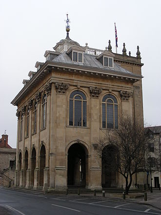 Christopher Kempster - Kempster's County Hall in Abingdon, Oxfordshire, built 1678–82, now a museum.