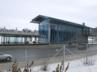 Dalhousie station (Calgary) - Image: Dalhousie (C Train) 8
