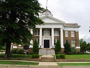 Dallas County, Arkansas - Image: Dallas County Courthouse 001
