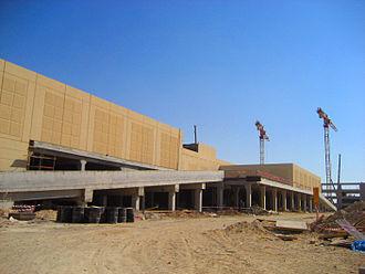 Dalma Mall - Dalma Mall under construction in 2009