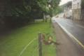 Damaged fence in Drumnadrochit Scotland.png
