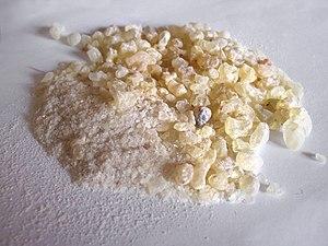 Canarium - Dammar resin from Canarium strictum