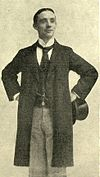 Photograph of Dan Leno in the 1880s