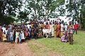 Daniel Oerther poses with villagers from rural Ghana after delivery of a ambulance.jpg