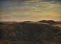 Dankvart Dreyer - The Coast of Jutland Seen from Mølleknap Hills in Funen - KMS3077 - Statens Museum for Kunst.jpg