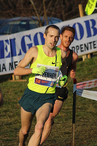 Campaccio - Dathan Ritzenhein racing on the course in 2015