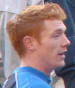 Dave Kitson - Kitson warming up for Reading in 2008