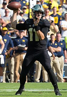 David Blough American football quarterback