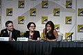 David Eick, Jane Espenson, and Grace Park SDCC 2009 (3767503371).jpg