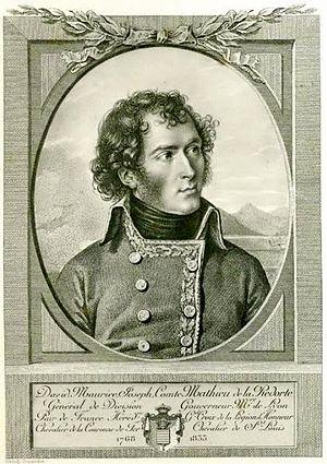David-Maurice-Joseph Mathieu de La Redorte - General of Division David-Maurice-Joseph Mathieu de La Redorte