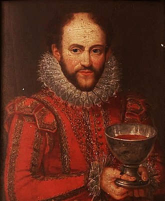 David Murray, 1st Viscount of Stormont - David Murray as a cup-bearer to James VI, portrait now in Scone Palace