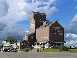 Dawson Creek - Dawson Creek Art Gallery in NAR Park.