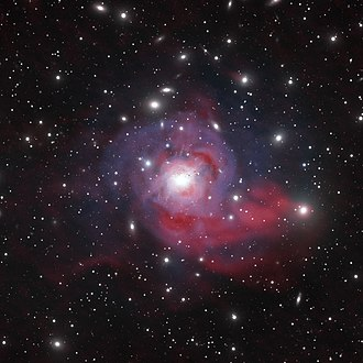 NGC 1275 - Image: Dazzling Galaxy