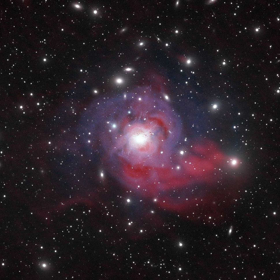 Dazzling Galaxy