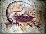 A Goguryeo tomb mural.