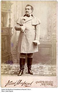 Emilio De Marchi (tenor) Italian opera singer 1861-1917