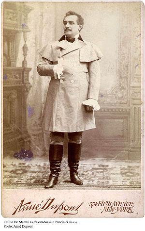 Emilio De Marchi (tenor) - Emilio De Marchi as Cavaradossi, a role that he created in 1900.