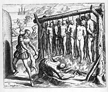 atrocities American against settlers indian