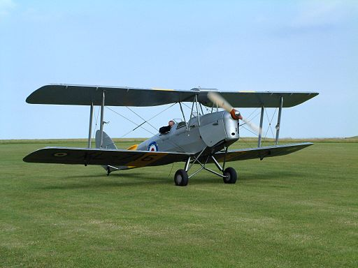 De Havilland DH-82A Tiger Moth II AN0374917