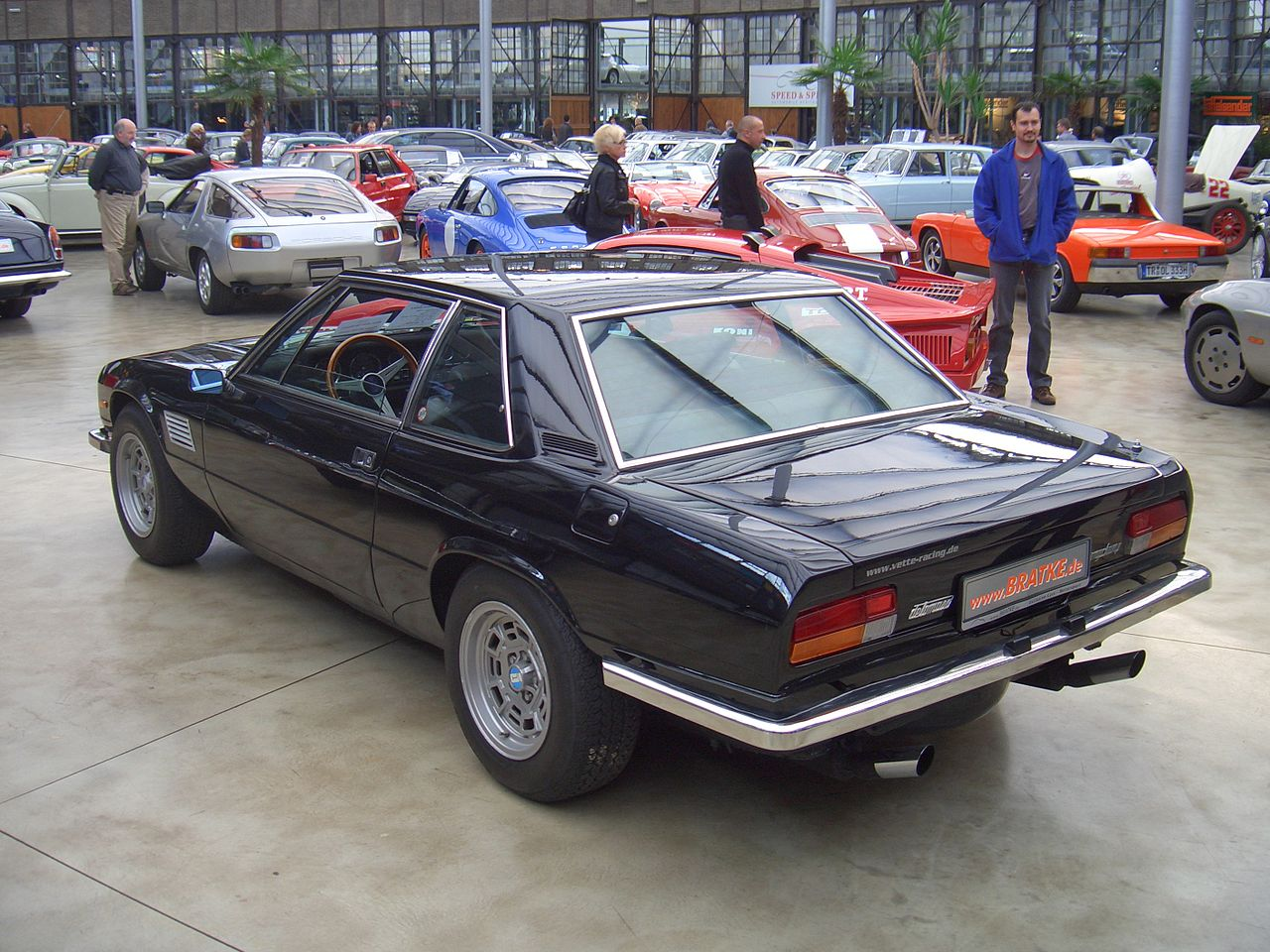 front engined pantera gt 1983 de tomaso longchamp gts bring a trailer. Black Bedroom Furniture Sets. Home Design Ideas