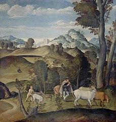 Le Jeune Mercure volant le troupeau d'Apollon