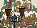 Decorative Streetlamps with Brest Mural - Brest - Belarus (27364449501).jpg