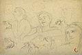 Dehodencq A. - Pencil - Feuille d'étude de personnages - 27x20cm.jpg