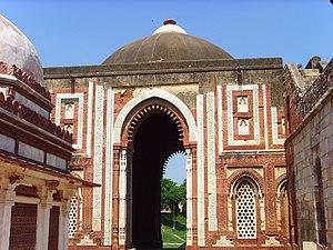 Gates of Delhi - Image: Delhi Alai Darwaza at Qutb complex