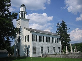 Delphi Baptist Church - Church in July, 2009