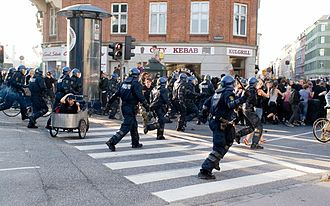 Copenhagen December Riot - Image: Demo 692