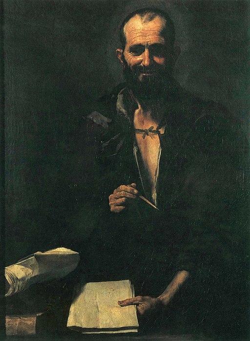 Democritus by Ribera