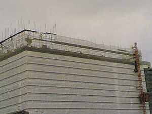 Ruskin Square - Wettern House demolition