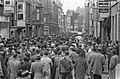 Demonstraties in Luik tegen de Eenheidswet, demonstranten trekken door Luik, Bestanddeelnr 911-9332.jpg