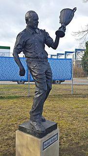 Denkmal Heinz Krügel MDCC Arena
