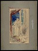 Desdemona (soprano), figurino di Alfredo Edel per Otello (1887) - Archivio Storico Ricordi ICON000887.jpg