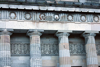 Royal Scottish Academy Building - Playfair's fine detailing
