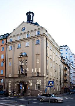 Fhv. kirkebygning på Kungsholmsgatan 23