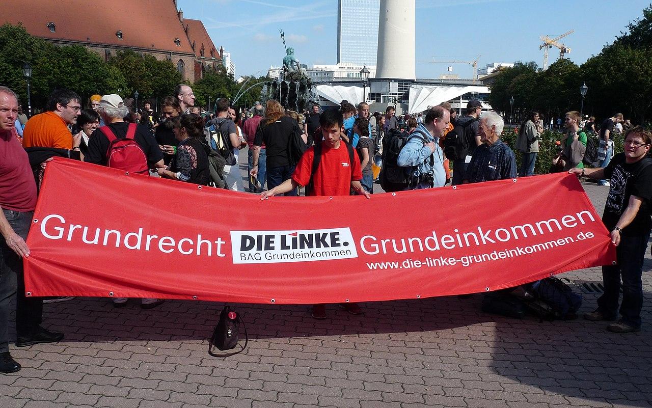 Die Linke Grundrecht Grundeinkommen BGE Berlin 2013.jpg
