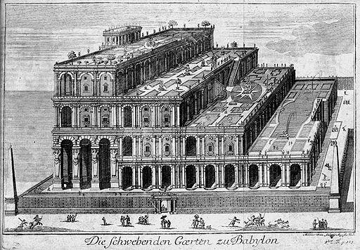 Die schwebenden Gärten von Babylon 1726