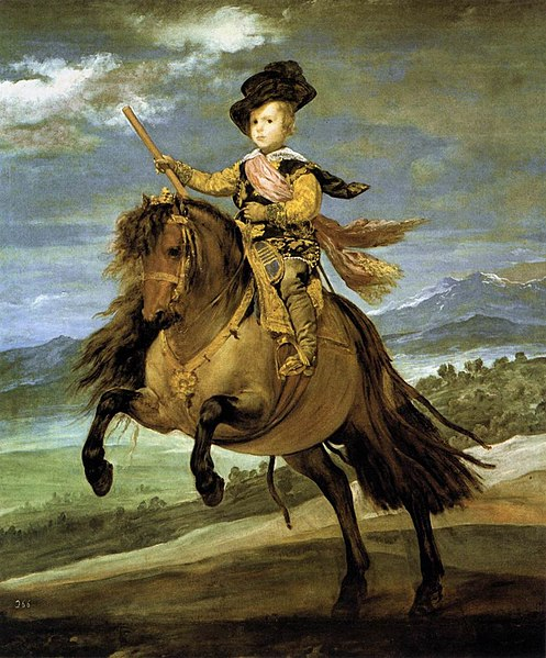 File:Diego Velázquez - Prince Baltasar Carlos on Horseback - WGA24414.jpg
