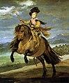 Diego Velázquez - Prince Baltasar Carlos on Horseback - WGA24414.jpg