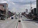 Dimasalang Street - with PNR bridge and Route 162 marker (Sampaloc, Manila)(2017-07-13).jpg