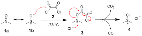 Dimethylchlorosulfonium Formation Mechanism.png