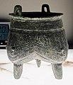 Dinastia shang, inizio dell'epoca anyang, tripode liding, 1300-1200 ac. ca.JPG